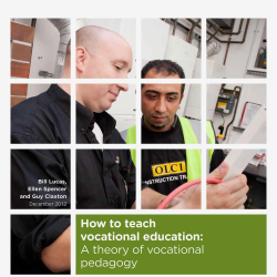 Image: REPORT - How to teach vocational education
